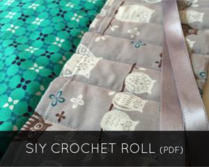 SIY Crochet Roll - Etsy